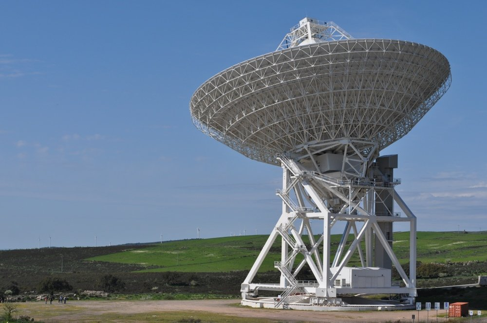 Largest radio telescopes - SRT (Credits: INAF)