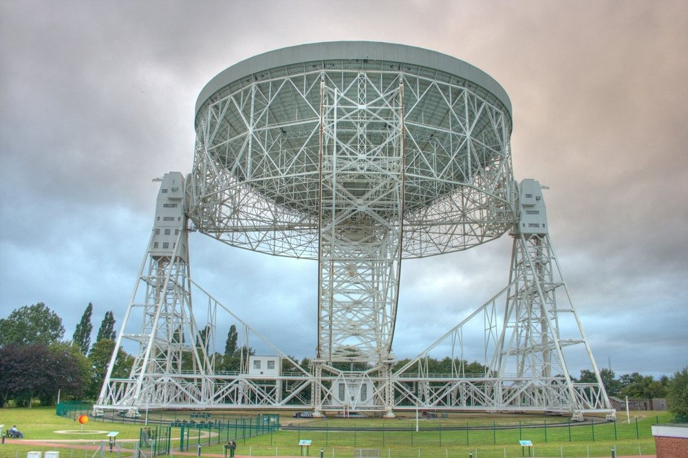 I più grandi radiotelescopi nel mondo: Lovell (Credits: Mike Peel; Jodrell Bank Centre for Astrophysics, University of Manchester)