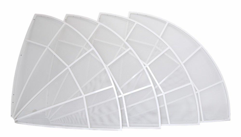 WEB230-5 2.3 meter parabolic antenna only dish