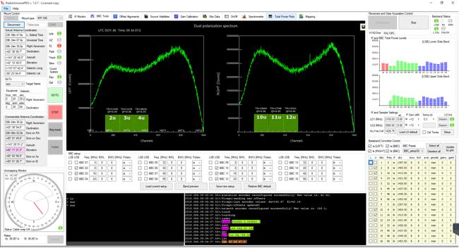 Esperimenti: emissione radio del Sole con i radiotelescopi SPIDER: BBC Tool vi consente di eliminare il segnale radio artificiale, se presente