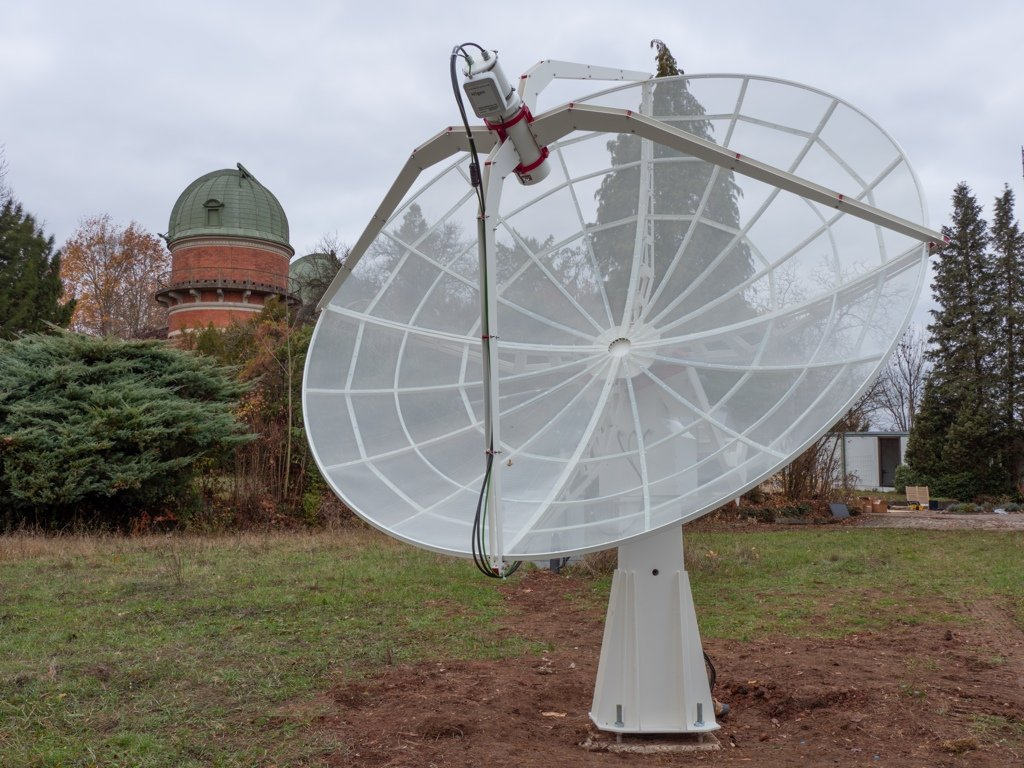 SPIDER 300A radio telescope in Karl Remeis Observatory