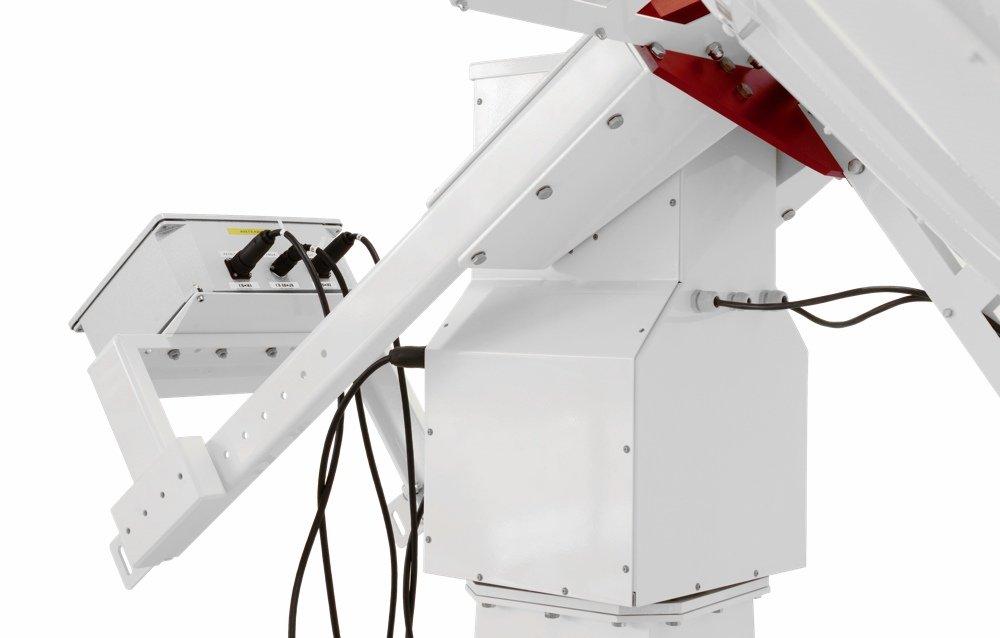WP-100 weatherproof computerized altazimuth mount