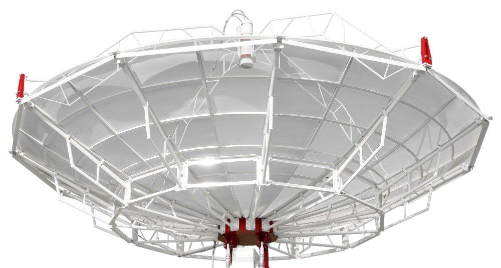 SPIDER 500A radiotelescopio professionale 5 metri: antenna da 5 metri di diametro