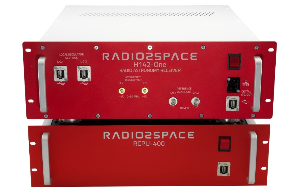SPIDER 500A professional radio telescope: H142-One radio astronomy receiver for 1420 MHz