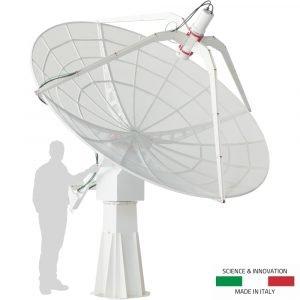 SPIDER 300A radiotelescopio avanzato 3.0 metri