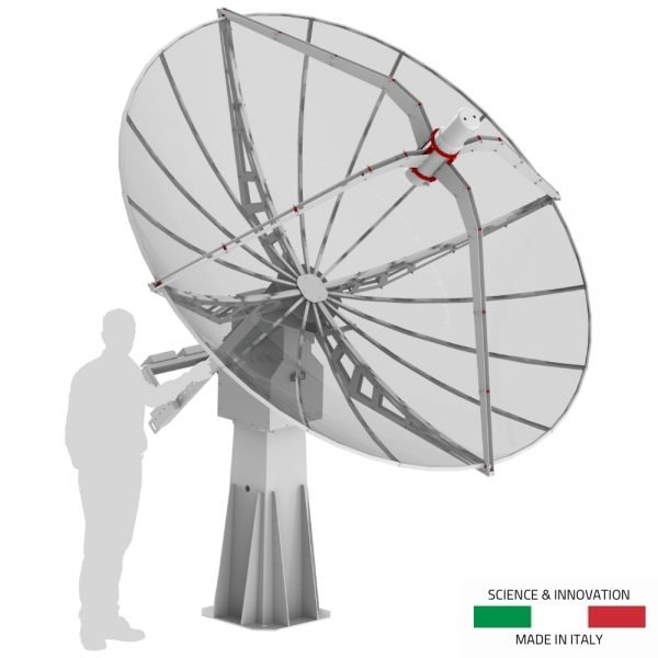 SPIDER 300A 3.0 meter diameter advanced radio telescope