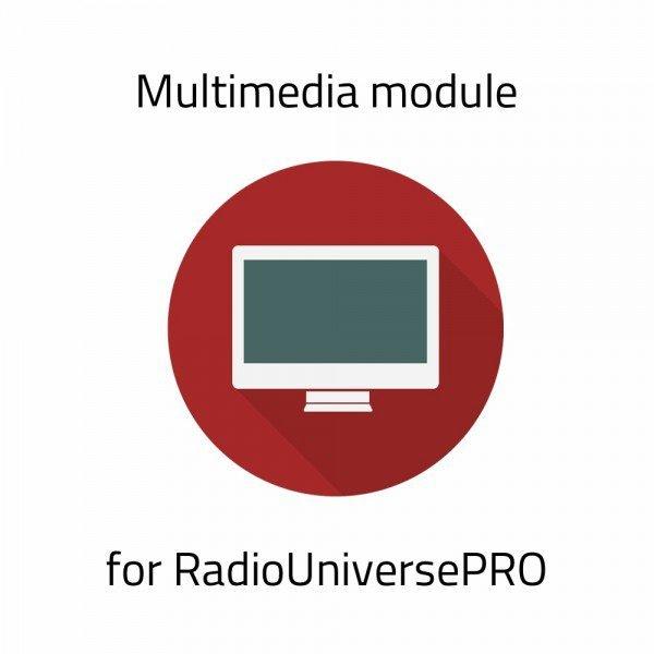 Multimedia Module for RadioUniversePRO