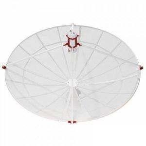 WEB230-5 2.3 meter prime focus parabolic antenna