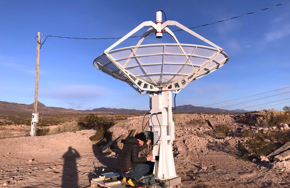 Looking for a DIY radio telescope? Discover Radio2Space turnkey services