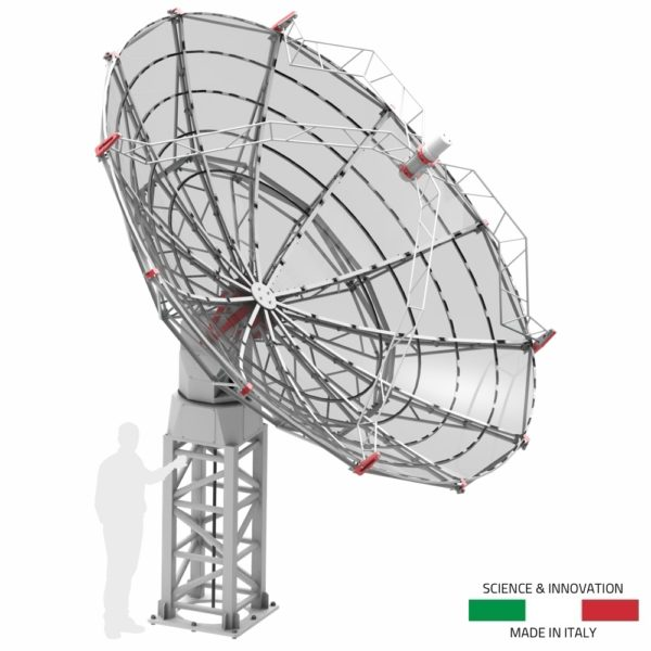 INTREPID 500S 5.0m S-band radio telescope