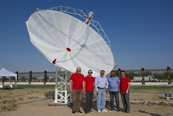 SPIDER 500A installato al Sharjah Center for Astronomy & Space Sciences – SCASS (Sharjah, UAE).
