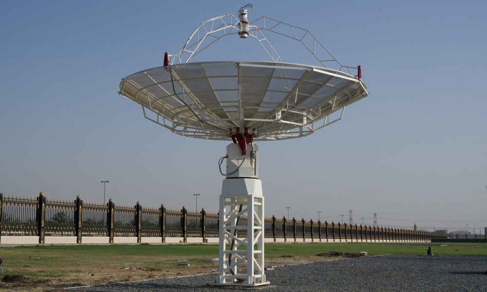 Orion A mapped with the SPIDER 500A radio telescope in Sharjah: the SPIDER 500A radio telescope used to map Orion A.