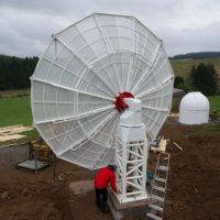 SPIDER 500A installed in Tanlaw Astro-chronometry Radio Observatory (TARO) in Scotland