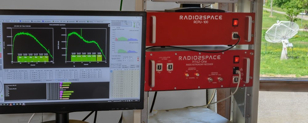 Radio2Space radio telescopes: remote control capabilities