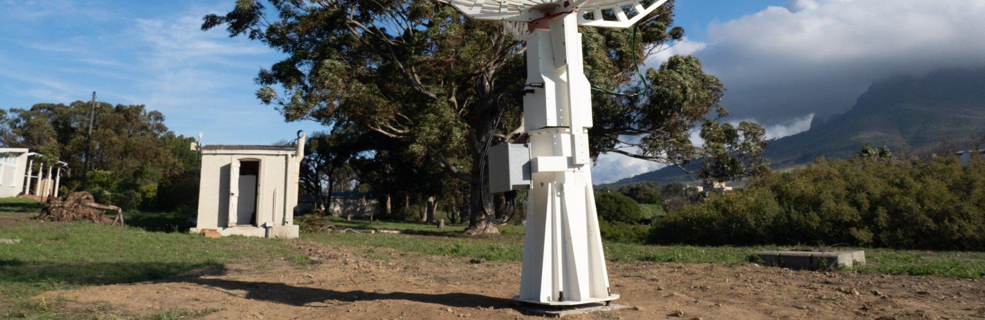 C106-HEAVY pier for radio telescopes