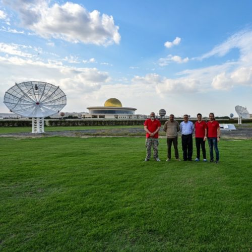 More SPIDER 500A radio telescopes installed in Sharjah Academy for Astronomy, Space Sciences & Technology