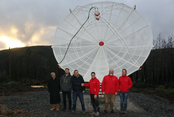 SPIDER 500A installed in Porto da Balsa radio astronomy station