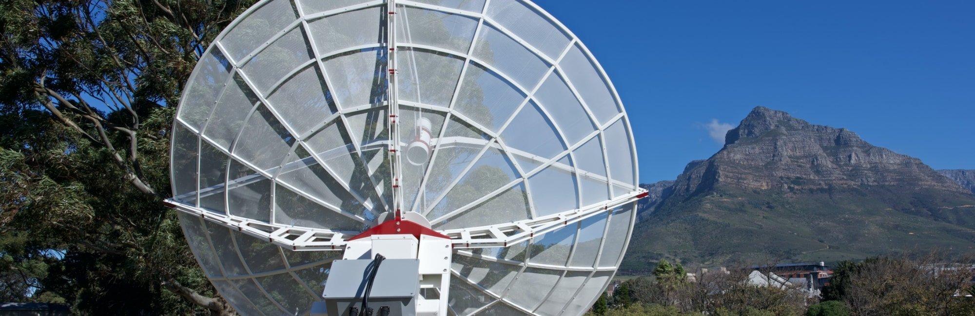 WEB300-5 3 meter parabolic antenna