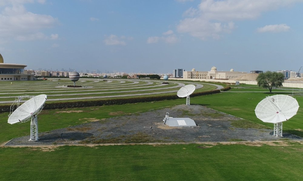 Introduction to radio interferometry: 3 SPIDER 500A radio telescopes installed at Sharjah Academy for Astronomy, Space Sciences & Technology