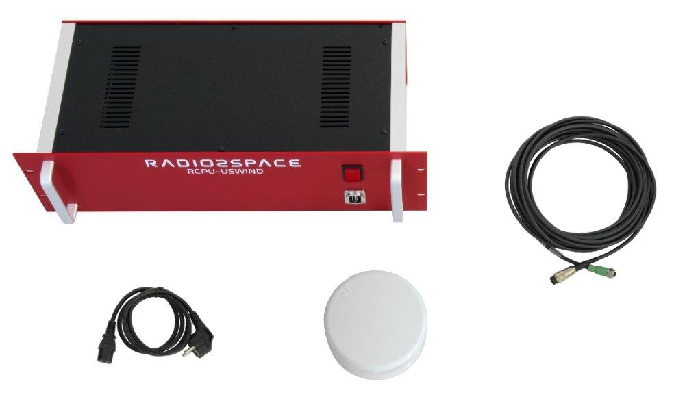 UltraSonic Wind Sensor for SPIDER radio telescopes