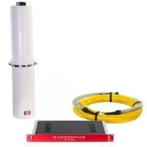 Radio over fiber kit for SPIDER radio telescope