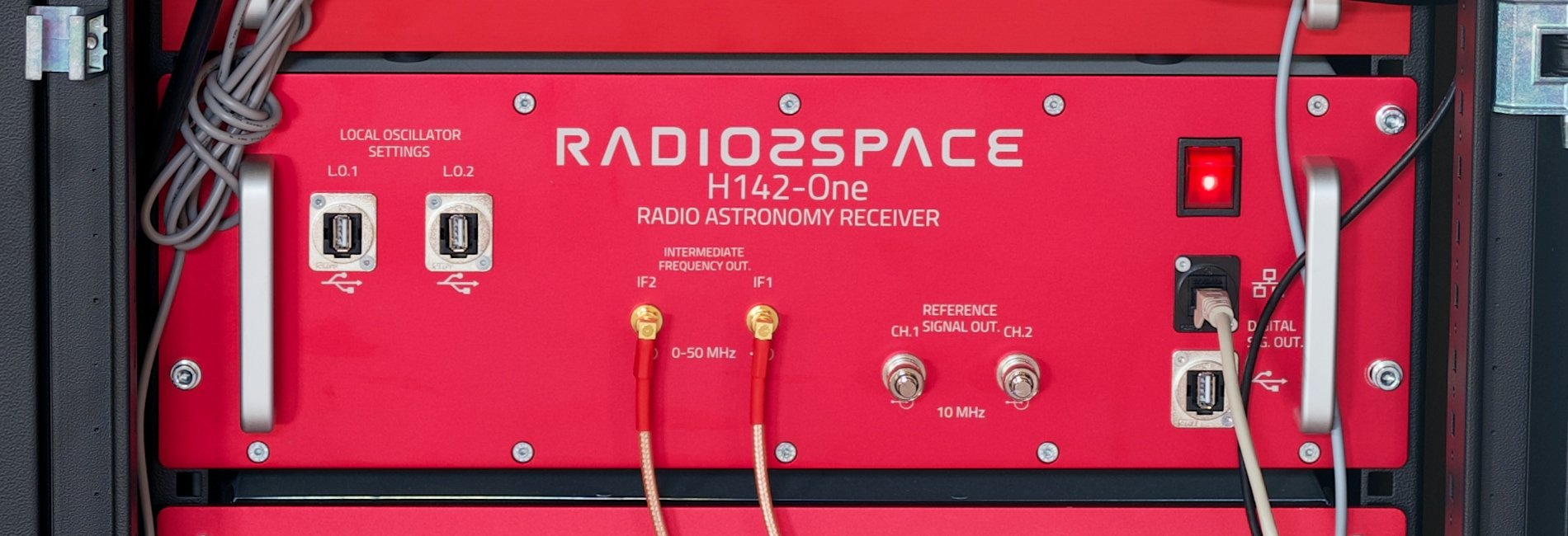 H142-One radio astronomy receiver, spectrometer and radiometer for 1420 MHz frequency