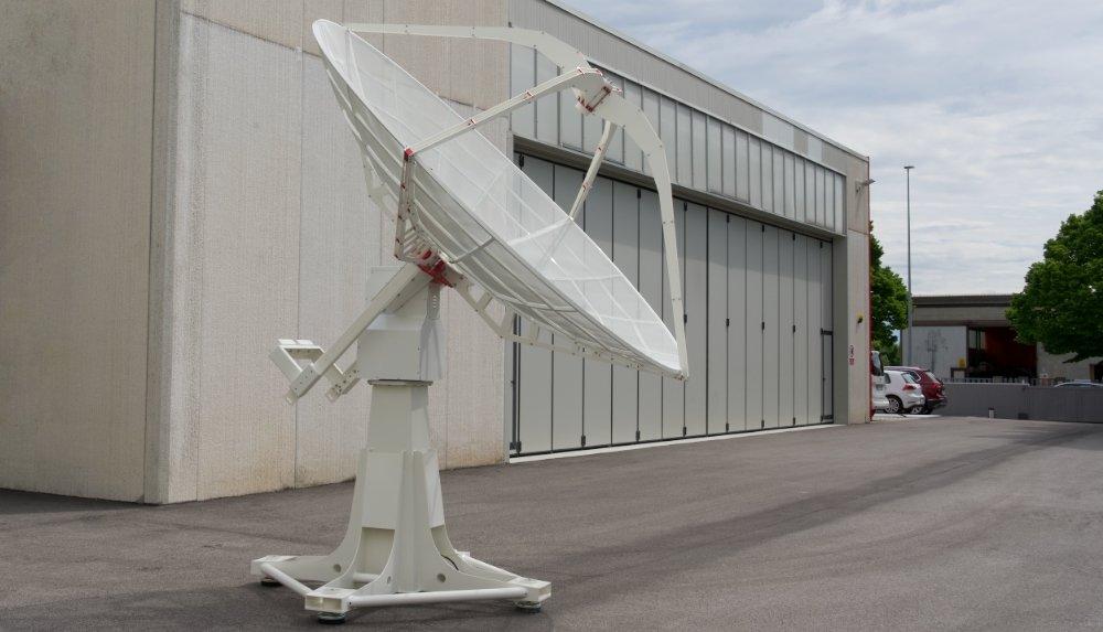 GS-100 rotore d'antenna per comunicazione satellitare