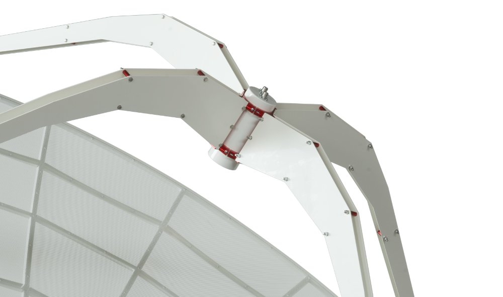 INTREPID 300S 3.0m S-band radio telescope as ground station: S-FEED: optimized feedhorn for 2200-2400 MHz