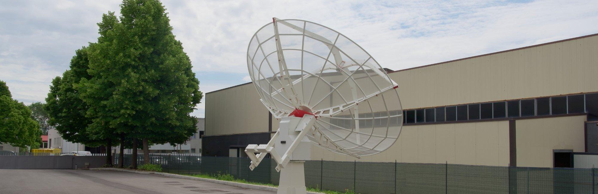 INTREPID 300S 3.0m S-band radio telescope as ground station
