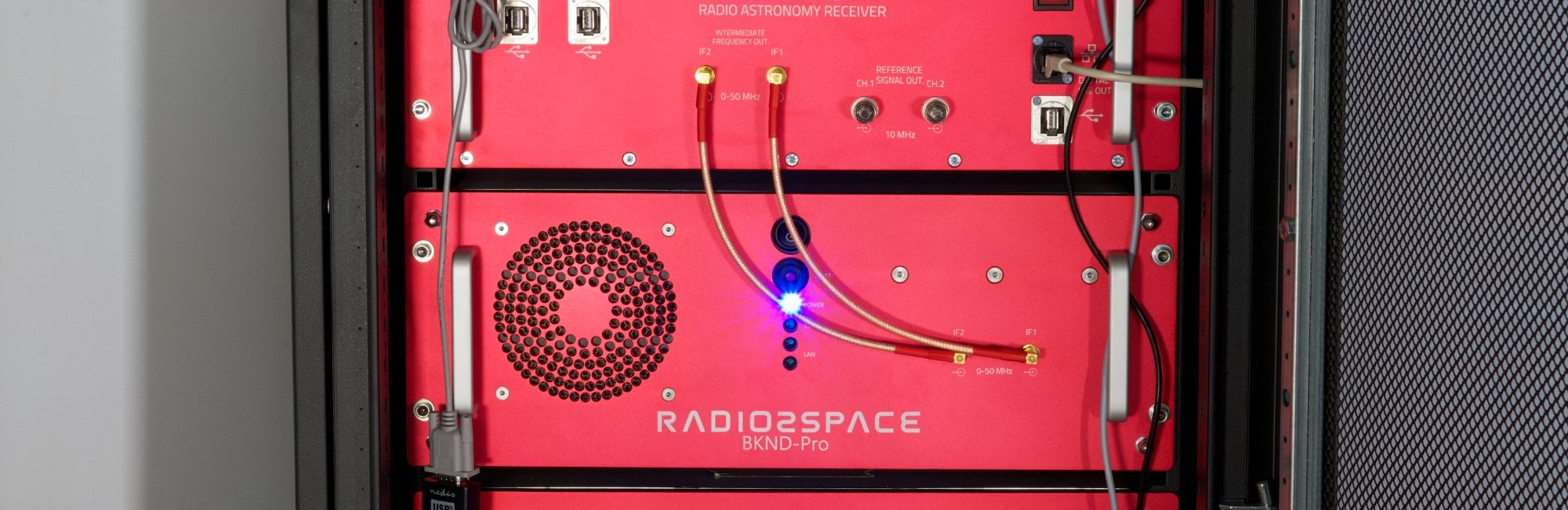 BKND-Pro backend for radio astronomy and SETI